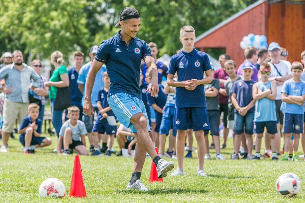 Deň Slovana 2018 Kuchajda športová akcia