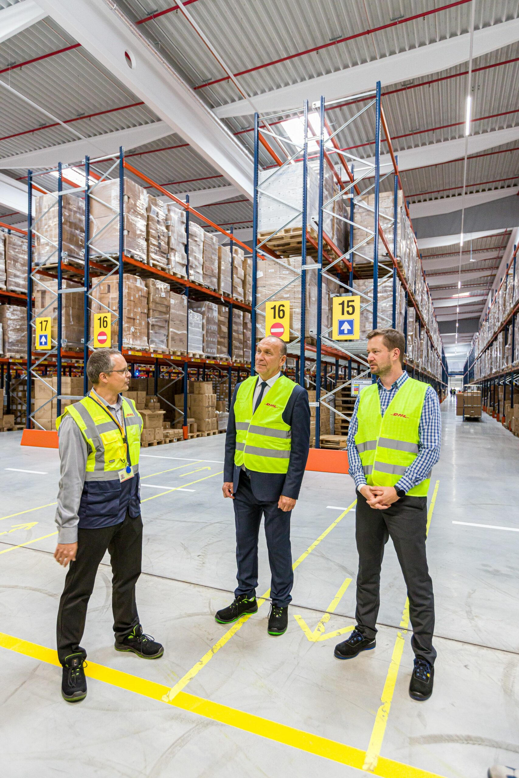 otvorenie distribucneho centra sklad bratislava logistika oficialne otvorenie gala eventova agentura